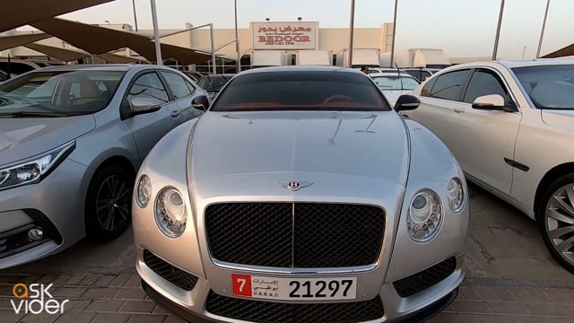 BENTLEY CONTINENTAL - SIL...