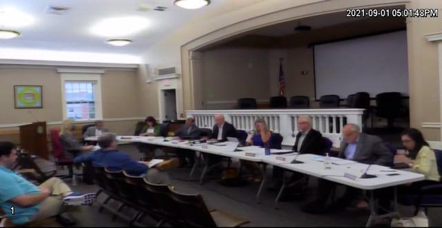 2021-09-01 Zoning Board Meeting