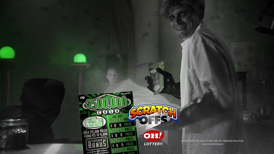 Ohio Lottery - Mad Science - $500,000 Cash