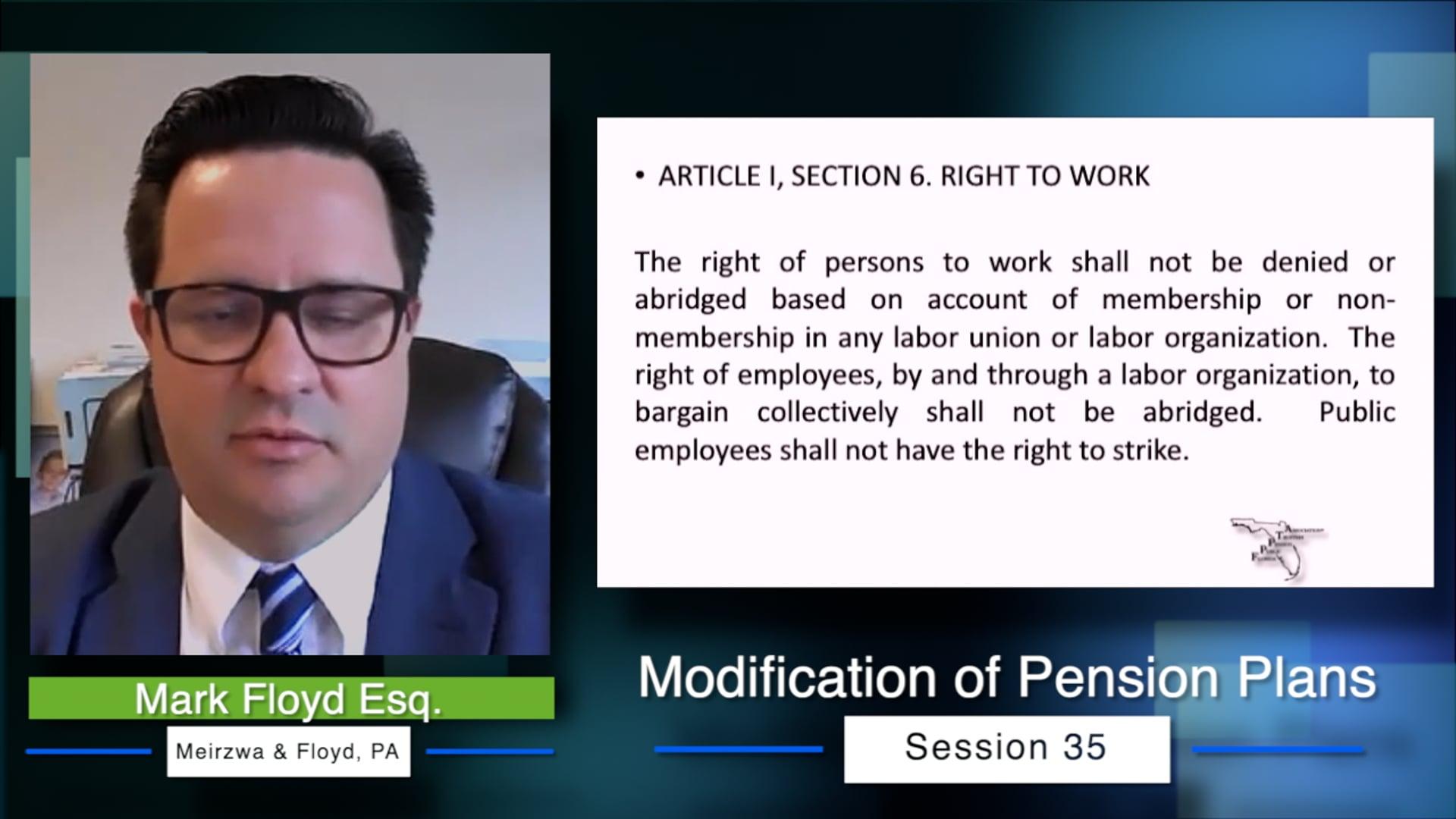 Pension Plans Video