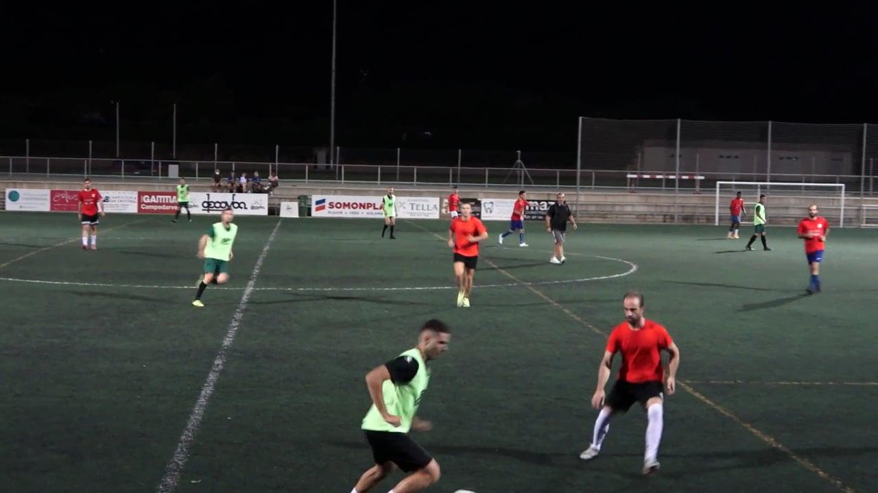 (Amistoso) P. FERRANCA TELLA - UD BARBASTRO SOMONTANO Los dos equipos Barbastrenses continúan con la preparación para el inicio de la liga