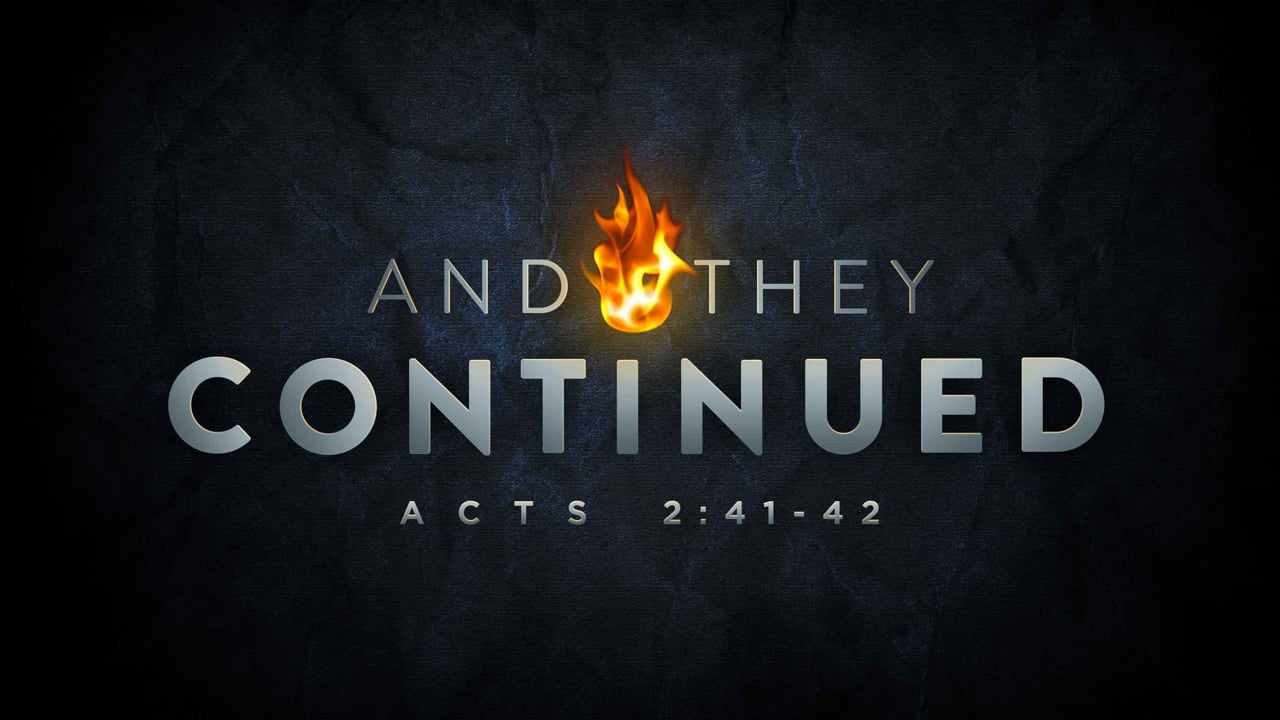 And They Continued | Pastor Abram Thomas