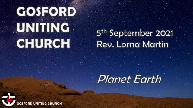 5th September 2021 - Rev. Lorna Martin