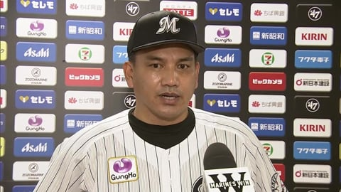 9/3 マリーンズ・井口監督 試合後インタビュー