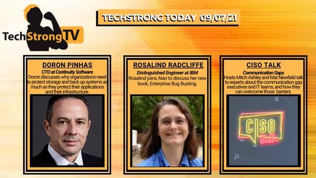 TechStrong TV - September 7, 2021
