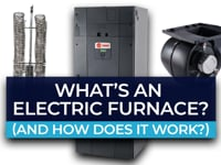 What's an electric furnace and how does it work?