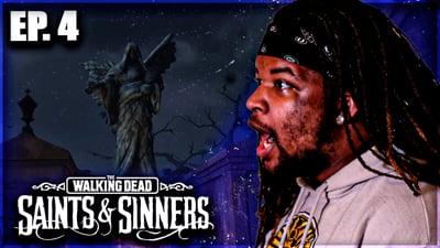 A Graveyard Killing Spree! Flam's Walking Dead: Saints & Sinners VR Walkthrough Ep. 4