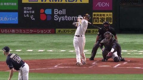 【1回裏】ホークス・柳田 テラス席へ先制のソロホームランを放つ!! 2021/9/4 H-B
