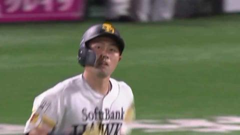 【5回裏】ホークス・中村晃 ライトへの2ランホームランを放つ!! 2021/9/4 H-B