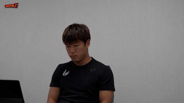 堀米 悠斗 選手 9月4日(土)vs ギラヴァンツ北九州 試合後会見