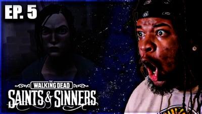 Meeting Up With Megan Fox or Max Jones? Flam's Walking Dead: Saints & Sinners VR Walkthrough Ep. 5