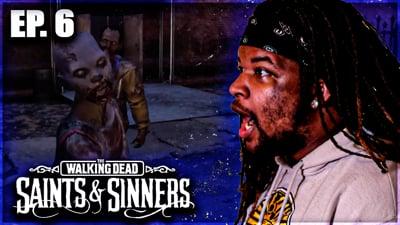 Can Flam Survive The Zombie SWARM? Flam's Walking Dead: Saints & Sinners VR Walkthrough Ep. 6