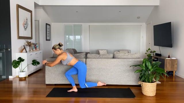 40min mat pilates - abs and legs