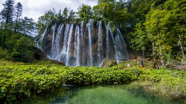 Astonishing Waterfalls of Croatia, Europe. Episode 6
