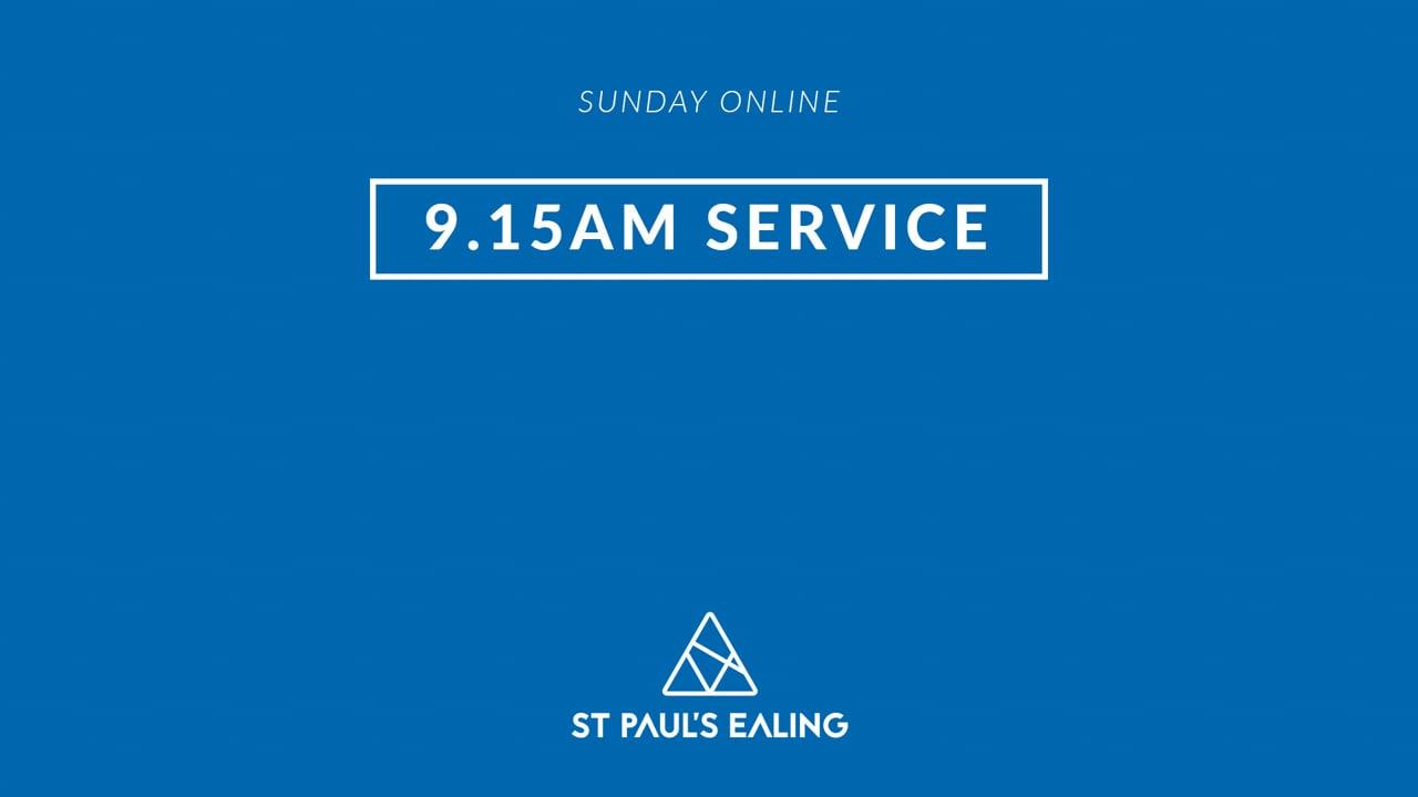 9.15am Service / 5 September 2021 / St Paul's Ealing