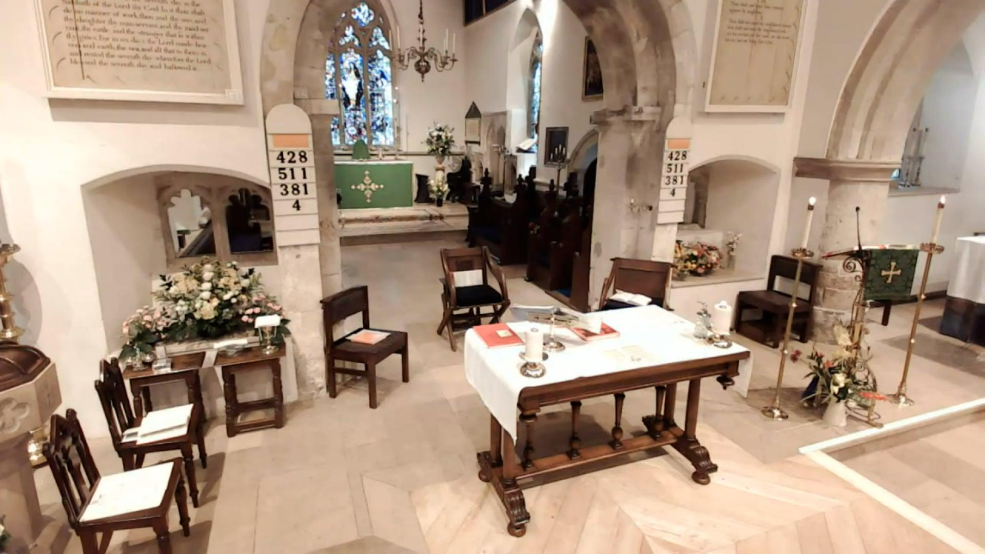 Sung Parish Eucharist - 5th September 2021