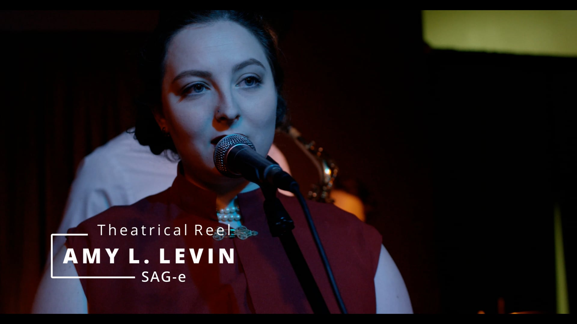 Amy L. Levin -1 Minute Theatrical Reel