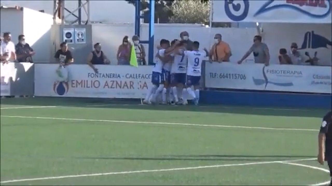 (RESUMEN y GOLES) SD Borja 1-0 UD Biescas / J 1 / 3ª División
