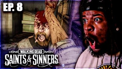 Going For BLOOD! Flam's Walking Dead: Saints & Sinners VR Walkthrough Ep. 8