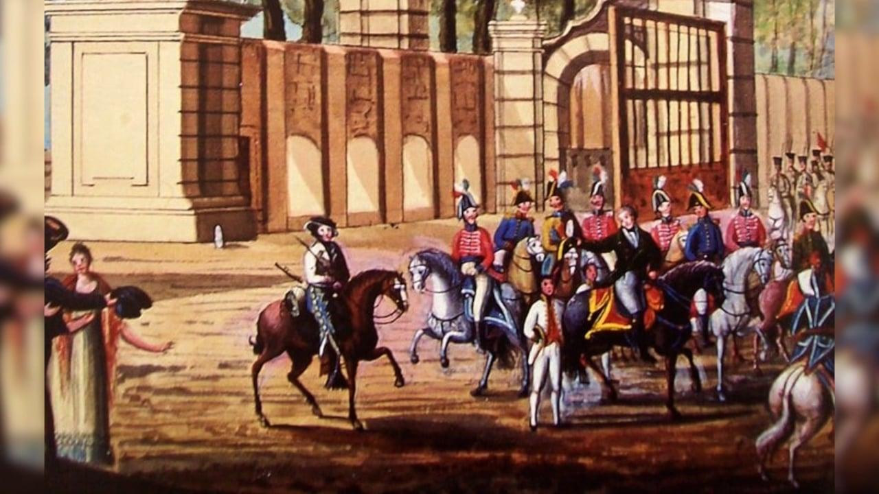 Valentín Gómez Farías, Pablo Casals, Pedro de Alvarado y María Lavalle Urbina