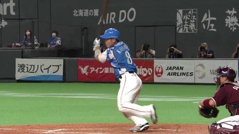 【5回裏】ファイターズ・近藤が勝ち越しのタイムリーヒット!! 2021/9/7 F-E