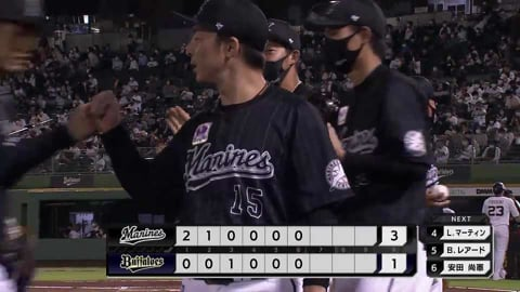 【6回裏】マリーンズ・美馬 6回4奪三振1失点の好投を見せる!! 2021/9/7 B-M