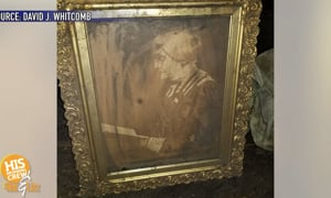 Susan B Anthony Found in his Attic