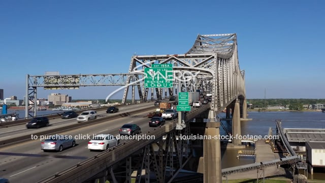 2985 Baton Rouge drone video aerial Mississippi River