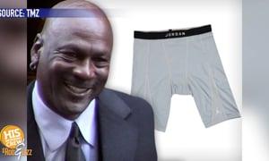 Michael Jordan $500 Undies!