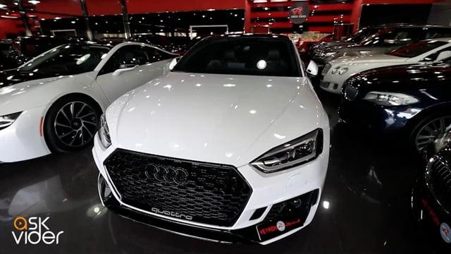AUDI RS5 - WHITE - 2018