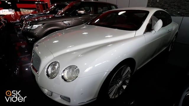 BENTLEY CONTINENTAL GT SP...