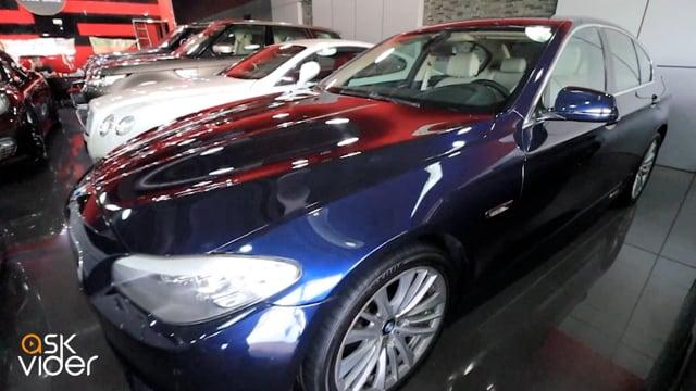 BMW 535i - BLUE - 2013