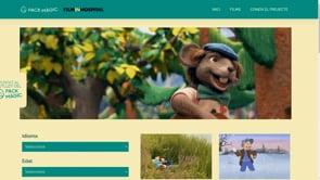 Cinema d'entreteniment pels ingressos pediàtrics de l'Hospital de Figueres