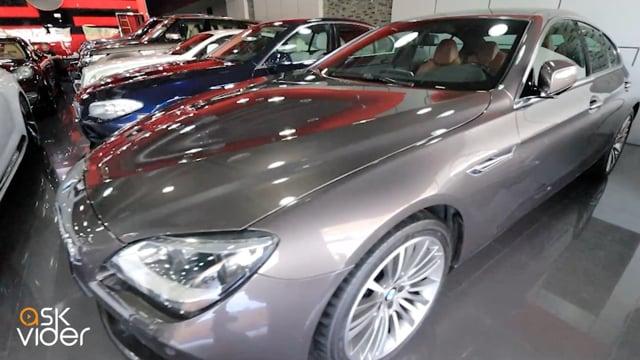 BMW 640i - GREY - 2013