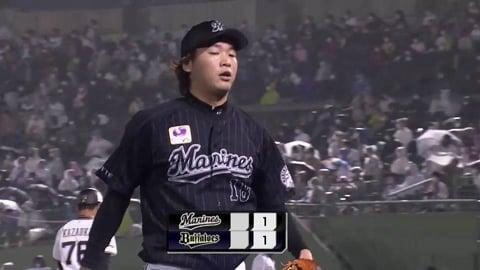 【7回裏】マリーンズ・二木 7回5奪三振1失点の好投を見せる!! 2021/9/8 B-M