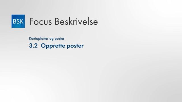 3.2 Opprette poster
