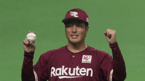 イーグルス・瀧中投手ヒーローインタビュー 9/8 F-E