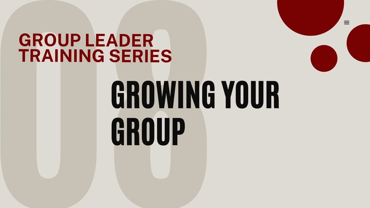 Growing Your Group
