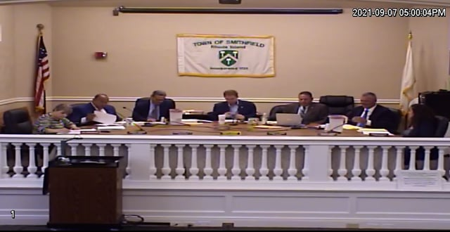 2021-09-07 Town Council Meeting