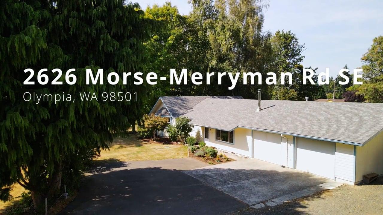 2626 Morse-Merryman Rd SE, Olympia, WA 98501