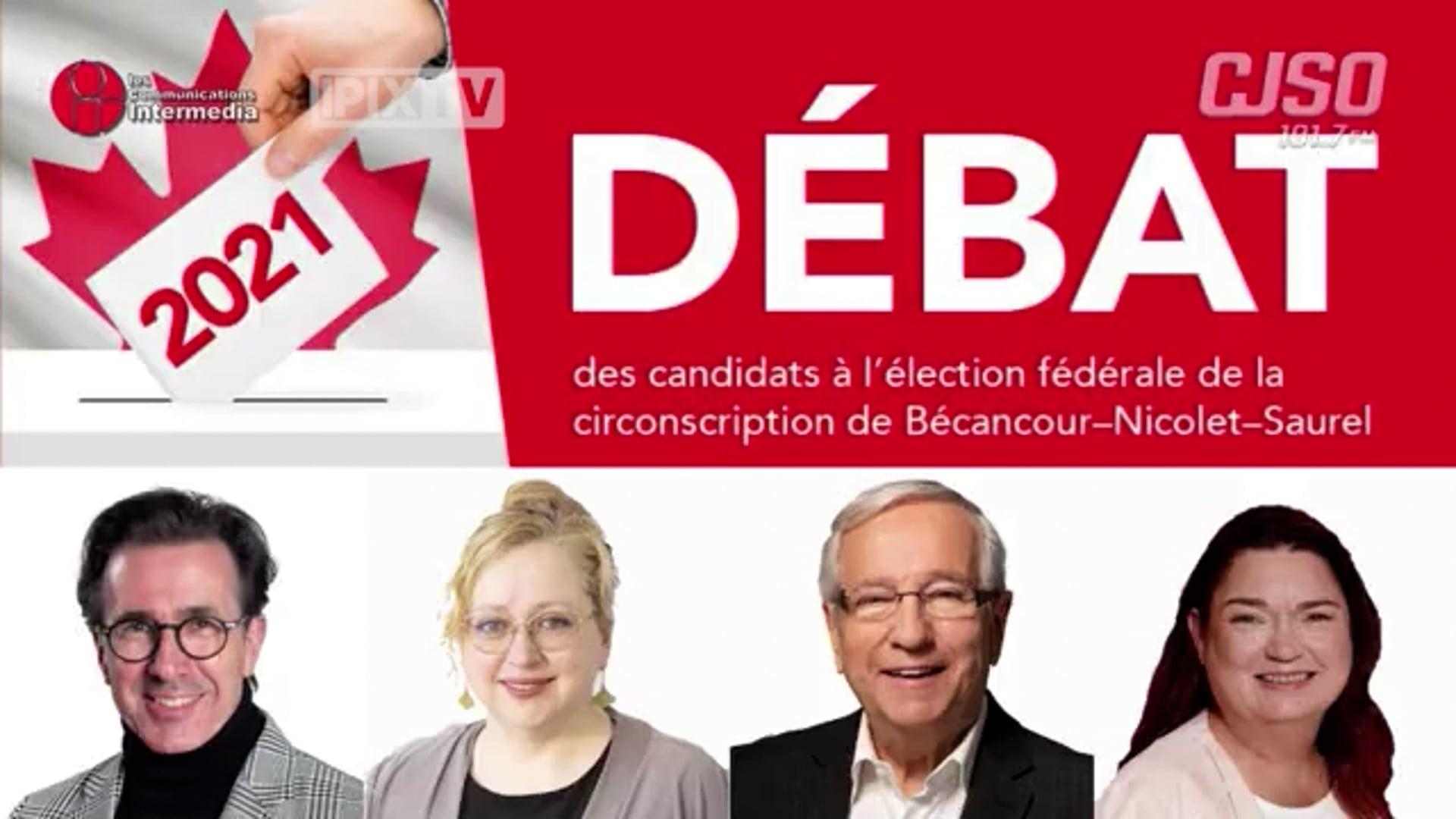Débat Bécancour-Nicolet-Saurel 2021