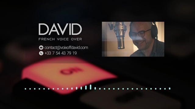 Voix Off • Voice Talent David Joppart Showreel TV commercials movies