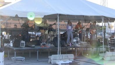 Thumbnail of video Rockin' The Rails - Christian Gendics Trio & Ava Rowland with The Square Cat Trio