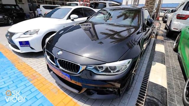 BMW 428i - BLACK - 2016
