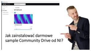 Jak zainstalować Community Drive od NI?