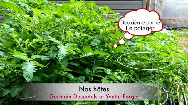 Visites des jardins d'un jardinier horticulteur-2