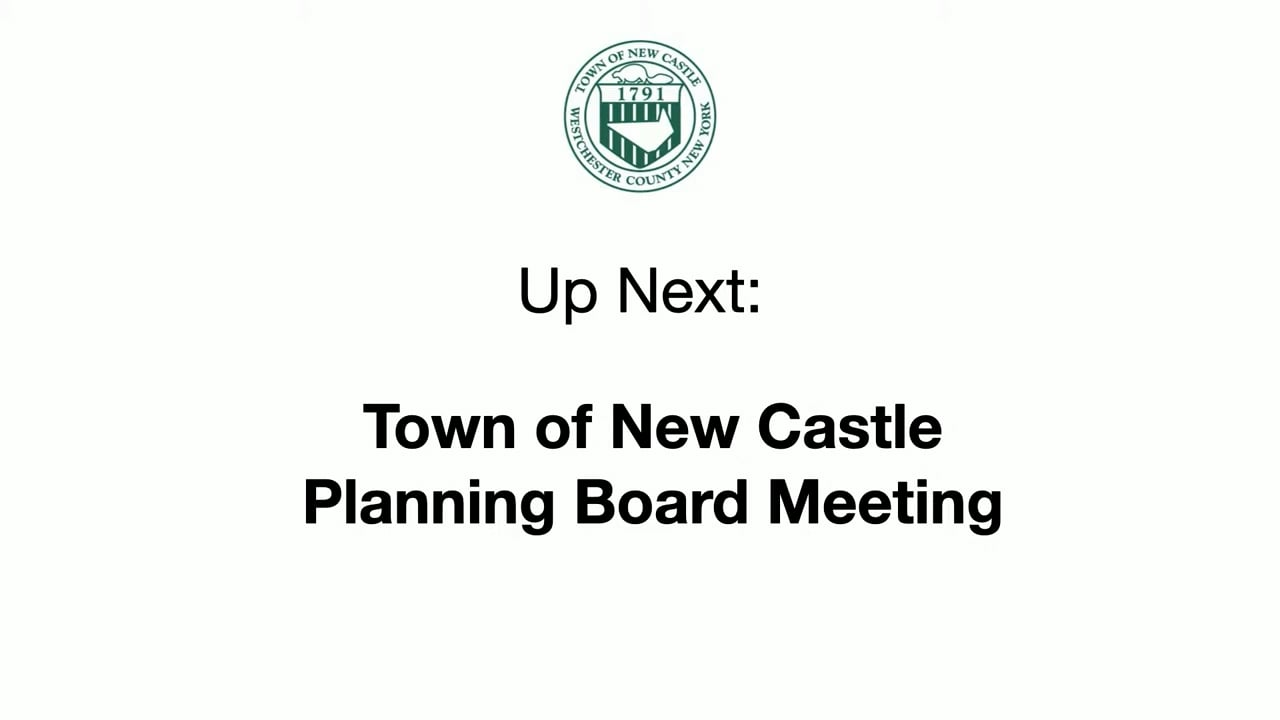 Town of New Castle Planning Board Meeting 9/8/21