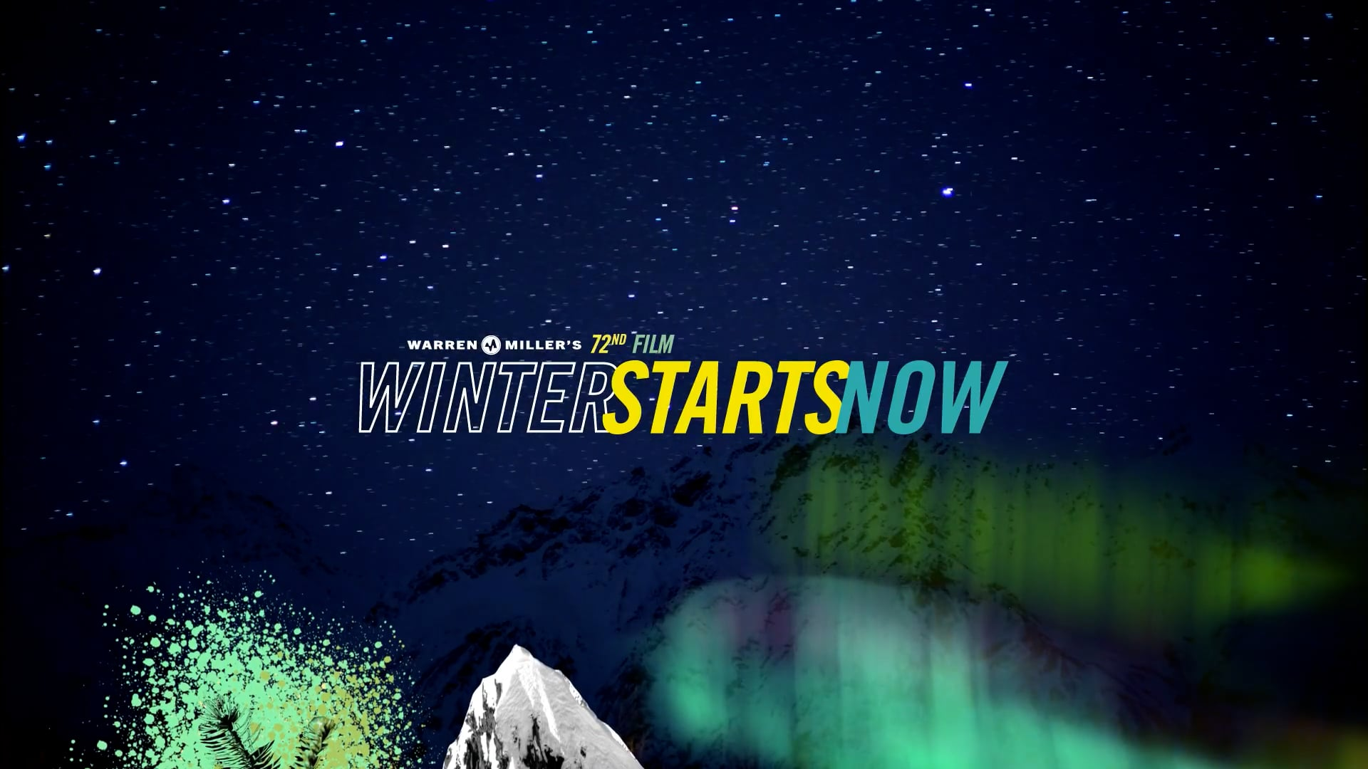 OFFICIAL TRAILER: Winter Starts Now