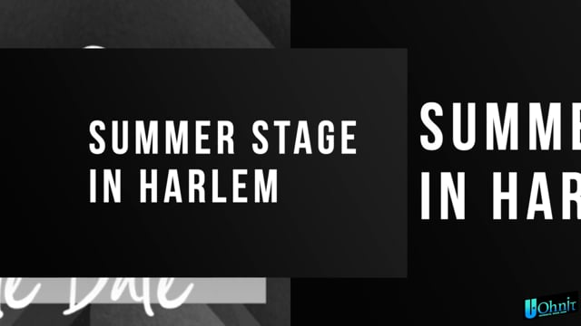 2021 Summer In Harlem - FREE Concert Aug 5th