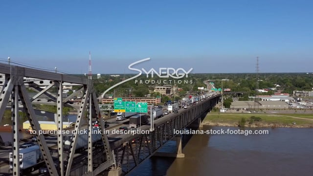 2980 Epic Baton Rouge traffic drone aerial
